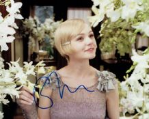 Carey Mulligan Autograph Signed Photo